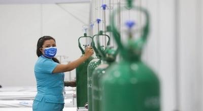 Ejecutivo garantiza abastecimiento de oxígeno