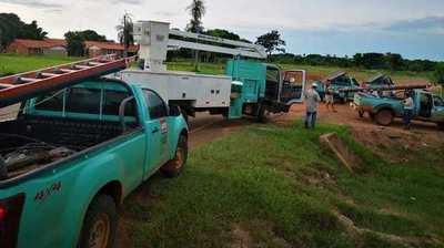 Se refuerza el sistema de distribución eléctrica en varias localidades del interior del país