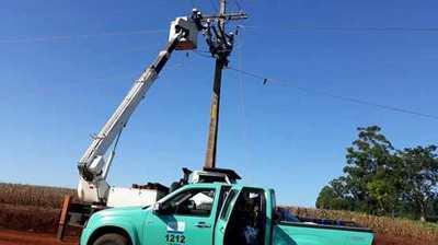 Se efectuó el mantenimiento integral de las redes de distribución en el departamento de Itapúa