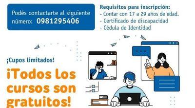 Habilitan curso gratuito de Emprendedurismo y Plan de Negocio para personas con discapacidad