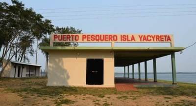 Puerto Pesquero fue inaugurado en la Isla Yacyretá