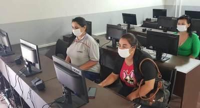 COPACO proveyó de Internet por fibra a escuela en Isla Yacyretá