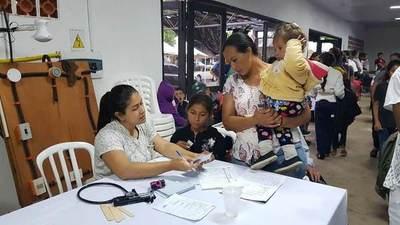 Pescadores y sus familias recibieron atención médica y capacitación en Ayolas