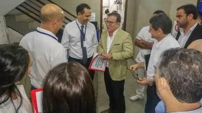 Gobierno ampliará Hospital San Jorge con recursos de la EBY