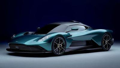 Aston Martin presentó el Valhalla, un superdeportivo híbrido enchufable de 950 caballos