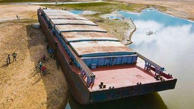Graneleros de Itapúa, los más  afectados por la bajante del río