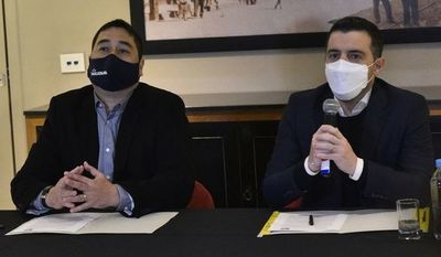 Nakayama y García firman alianza e irán a encuestas