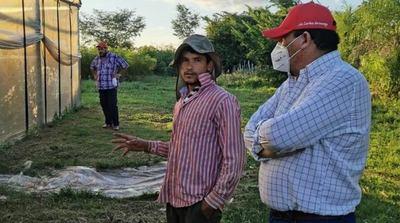 Joven emprendedor innova en horticultura en Santa Rosa Misiones