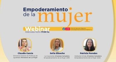 Empoderamiento de la Mujer del Premio Nacional Mipymes 2021 tratarán en webinar