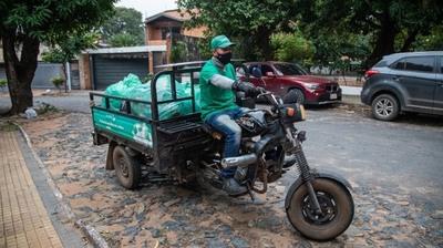 Recolectan de 5 barrios de Asunción 374 kilogramos de materiales reciclables