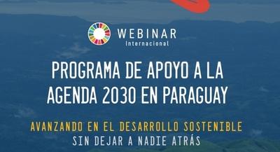 Presentarán programa de apoyo a la implementación de la Agenda 2030 en Paraguay