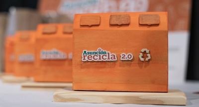 Más de 29.000 kilos de materiales reciclables recuperados en el EcoDesafío Asunción Recicla 2.0