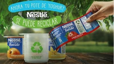 Nestlé intensifica su camino de transformación hacia envases sustentables