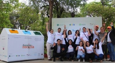Buscan generar conciencia sobre la importancia del reciclaje en barrios de Asunción