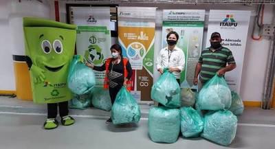 Recicladores del Barrio San Francisco recibieron nueva tanda de materiales reutilizables