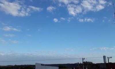 Meteorología pronostica miércoles frío a cálido en Coronel Oviedo