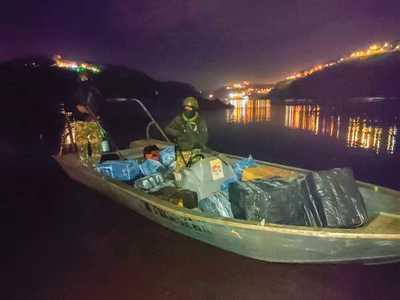 Masivo CONTRABANDO desde la Argentina por el río Paraná