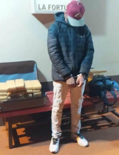 Piden prisión para brasileño detenido en posesión de sustancias estupefacientes