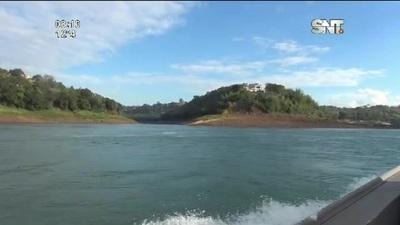 Crítica situación del Río Paraná