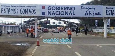 Covid-19: Baja concurrencia de personas en megavacunatorio del ex autódromo Aratirí
