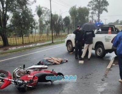 Una joven de 21 años pierde la vida en accidente de moto