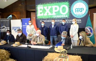La Expo Nacional de Ganadería de la ARP se realizará del 10 al 26 de septiembre de 2021