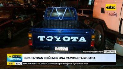 Recuperan dos vehículos denunciados como robados