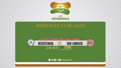 Resistencia y San Lorenzo quieren escalar en la tabla
