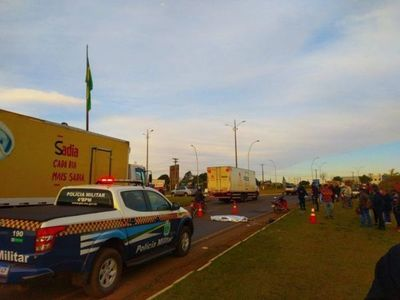 Paraguaya muere atropellada en Ponta Porã