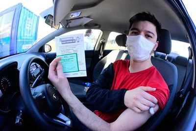 Unos 2.223 trabajadores utilizaron el derecho de permiso para vacunarse