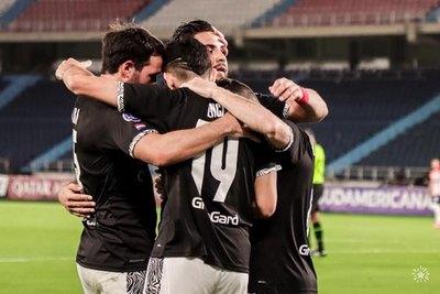 Libertad, por estar entre los ocho mejores de la Sudamericana