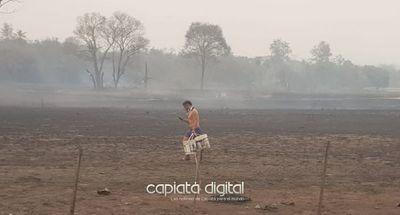 El país en llamas!: Arde Areguá y varias ciudades