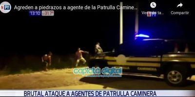 Agente de tránsito de Capiatá involucrado en brutal agresión contra la Policía Caminera