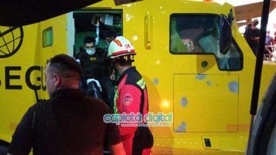 Policía confirma dos heridos en millonario asalto a transportador de caudales