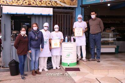 CONTIPARAGUAY con importante contribución y apoyo a panaderos de Capiatá