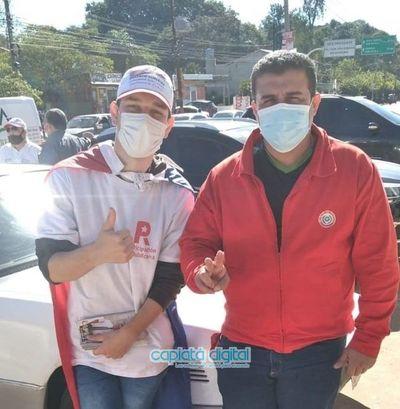 Raúl Cañete, contador y docente universitario propone una renovación real de la junta fuera de las estructuras oficiales de Capiatá