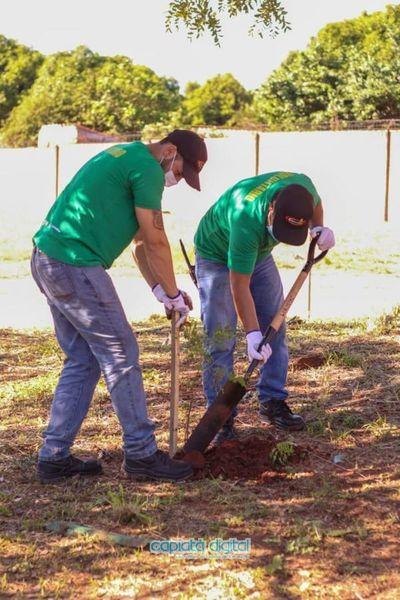 ContiParaguay apuesta al medio ambiente con compaña de arborización