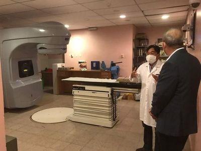 Diputado capiateño contribuye para reparación de equipo de Radioterapia del INCAN