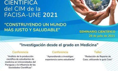 Organizan Seminario Científico dirigido a estudiantes de Medicina