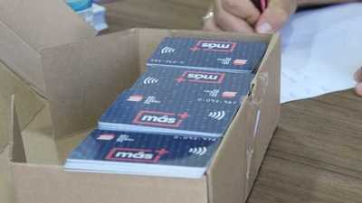 Más de 5.200 tarjetas estudiantiles del billetaje electrónico fueron remitidas al MEC para su distribución