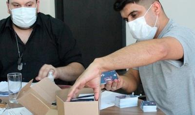 Más de 5.000 tarjetas estudiantiles del Billetaje Electrónico fueron remitidas al MEC para su distribución