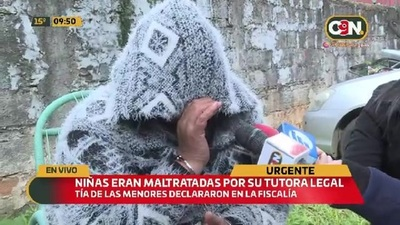 Tutora legal niega maltrato de niñas en Limpio