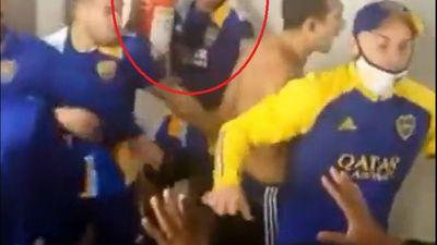 Boca Juniors y Mineiro armaron sarambi después del partido