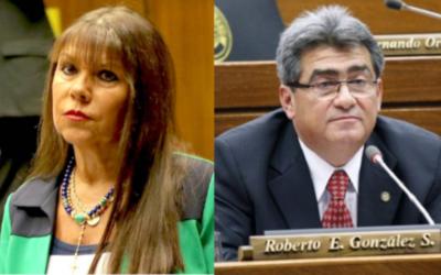 Duro cruce de palabras con fuertes calificativos entre los diputados Roberto González y Celeste Amarilla