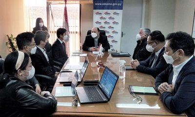 Misión técnica de Koica presentó el plan de modernización para Aduanas