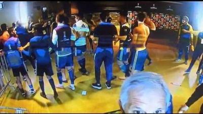 Enfrentamientos, gas pimienta y jugadores detenidos: El escándalo de Boca en Brasil – Prensa 5