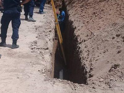 Desmoronamiento de una obra en Lambaré causa dos heridos · Radio Monumental 1080 AM