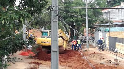 Accidente laboral: Obra se desmoronó sobre tres trabajadores