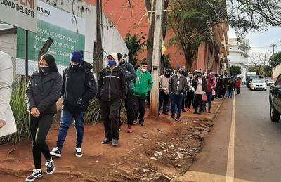 Esperan superar los 12.000 vacunados este miércoles en Alto Paraná