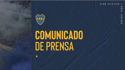 Fuerte comunicado de Boca Juniors